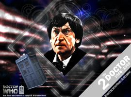 Doctor Who 50th Anniversary - The 2nd Doctor by VortexVisuals