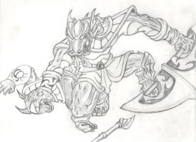 Renekton-Dominus by aguywiththe2pencil