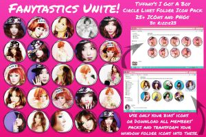 Tiffany IGAB Circle Lines Folder Icon Pack by Rizzie23