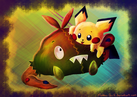 Pichu and Trubbish
