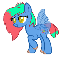 Flitter Fly by Strawberry-T-Pony