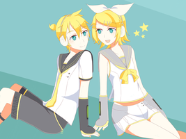 V4X RIN AND LEN IS HERE!!!! by arinapastel