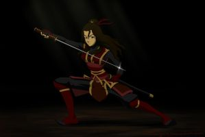 Kiara from the firenation by airgirl39