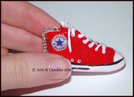Converse Allstar pendant by Ambient-Lullaby