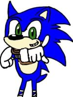 Boom Sonic Doing A Sonic Adventure Pose by tanlisette