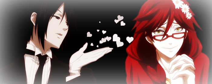 Sebastian and Grell by AnnaProvidence