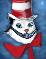 Chesire Cat in the Hat by danebrown