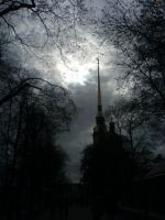 dark St. Petersburg by mdual