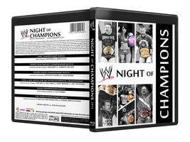 WWE Night of Champions 2012 by StefanMK1