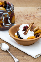 Spiced Dried Fruit and Greek Yoghurt by iconsPhotography