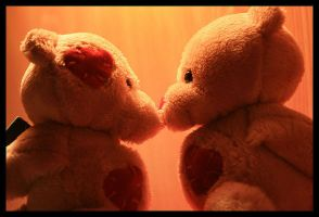 Teddy bears true love by felina-latina
