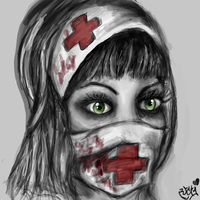 The Nurse by MayanMuscle