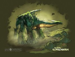 Scopulosaurus by CreatureBox