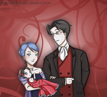 Miles Franziska and their baby by AshitaMaya