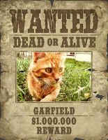 Garfield_is_wanted by BumblebeesBride