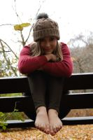 The joy of autumn - So YOU like my feet? by foot-portrait