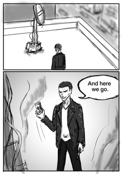 If 9th Doctor were in the 50th anniversary  P1 by GaryLight