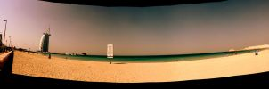 Jumeira Beach Panorama by JuiceMonkey610