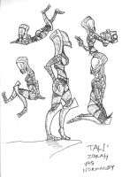 Tali doodles by Finjix
