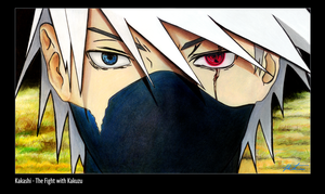 Kakashi - The Fight with Kakuzu by mlowther99