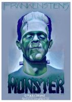 Frankenstein's Monster by hatefueled