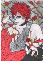 gaara of the sand by fairyloves