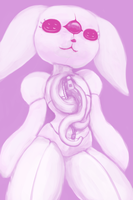 Flopsy WIP by Anthropony