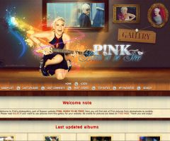 Photogallery for Pink site by fionaadam