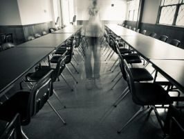 Ghost In The Lecture Room by JohnKyo