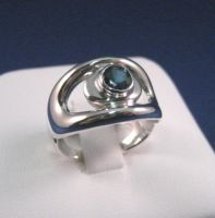 Bending O Ring by GipsonDiamondJeweler