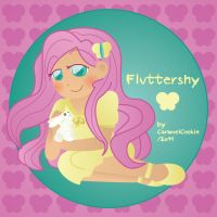 Human Fluttershy by CaramelCookie