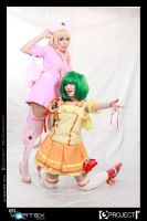Sheryl Nome and Ranka Lee cosplay by ShirahimeCosplay
