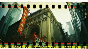 Chicago Theatre by mikeypetrucci