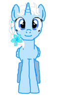 Elsa Pony Animation Puppet Front View by SonicDash777