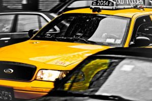 Cab in New York by RasmusJt
