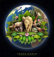 Green Earth by Neijman