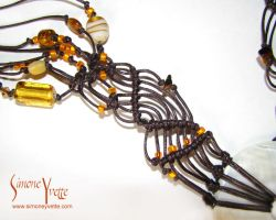 AMBERESQUE NECKLACE 4 by simoneyvette