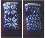 Fingerless Fair Isle Mitts by under-the-fence