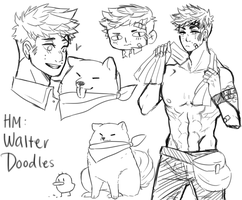 HM: Walter Doodles by Barasenpai
