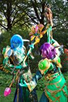Nightelf Druids in Kassel by KamuiCosplay