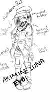 .: Akimine Luna EVO 1 : Alt Design : And a rant :. by L-Y-R-I-E