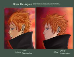 Draw this again - Pein by Vampynella