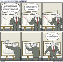 The Adventures of Business Cat - Boardroom by tomfonder