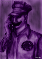Purple Guy - You Can't (FNAF) by Dye-Macabre