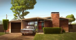 Mid Century Modern by MeckanicalMind