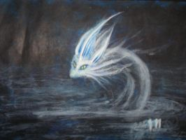 Ice Dragon by MerlinTheeMagical