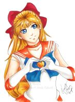 Sailor Venus - COPIC Practice by Ranefea