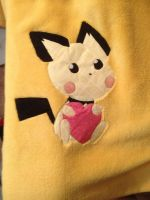 Pichu Blanket by GraycilynTalor