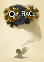 One Race: the one shot title page by Dark-Merchant