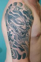 Japanese Demon by gettattoo